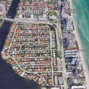 Golden Shores Homes in Sunny Isles
