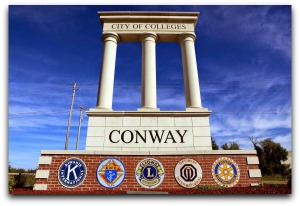 Conway AR City of colleges