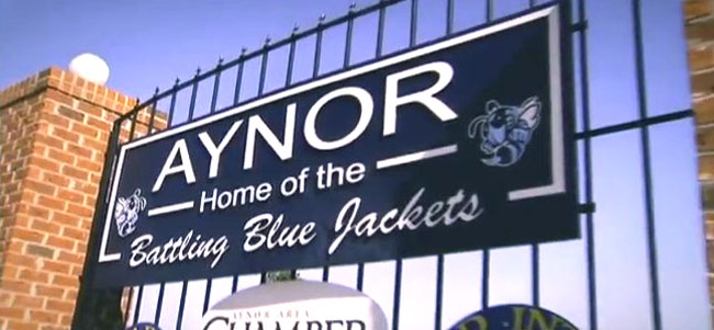 Aynor SC High School Sign