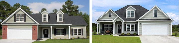Creekside Homes Models in Baylee Estates