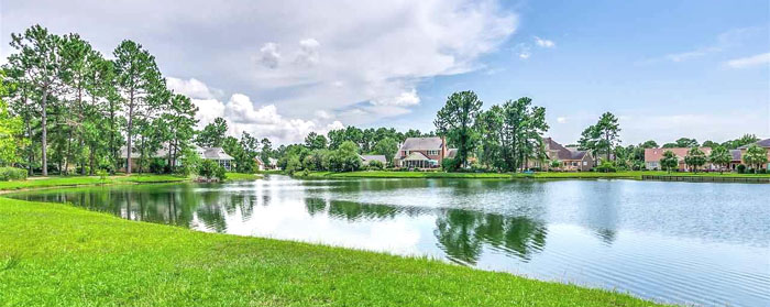 Lake in Forest Lake Estates, Conway SC