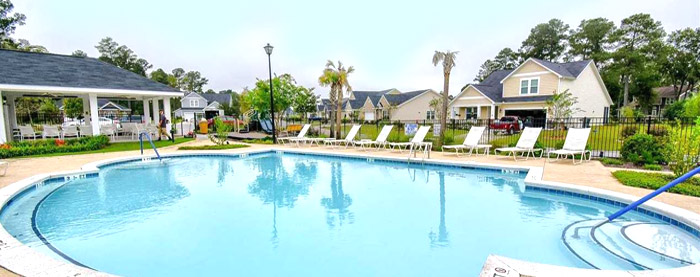 Pool in Ridge Pointe, Conway SC