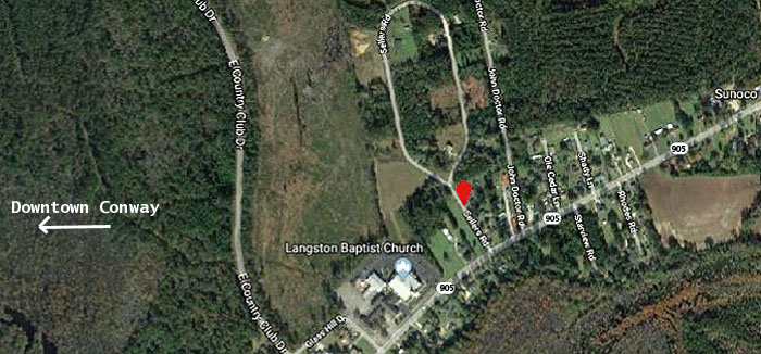Langston Heights Satellite View