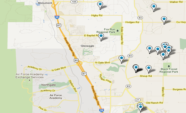 Northgate Colorado Springs Real Estate Map Search