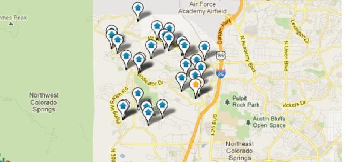 Northgate Colorado Springs Real Estate Map Search