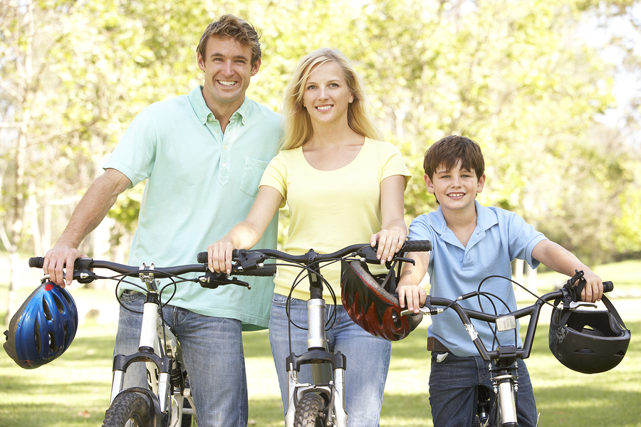 Enjoy biking near Cary homes.
