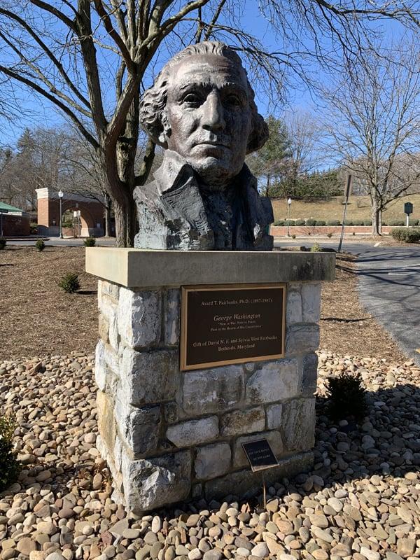 Hagerstown - George Washington Statue in City Park
