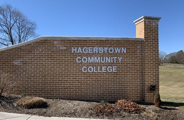 Hagerstown Community College Sign