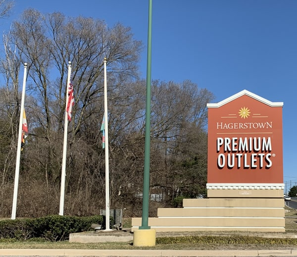 Hagerstown Premium Outlets, Maryland