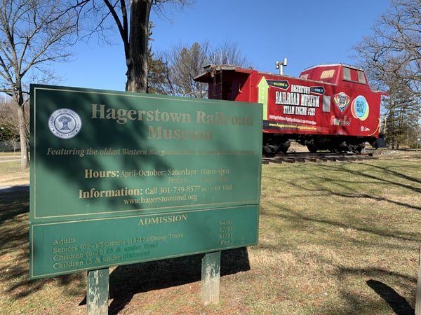 Hagerstown Rail Road Museum in City Park