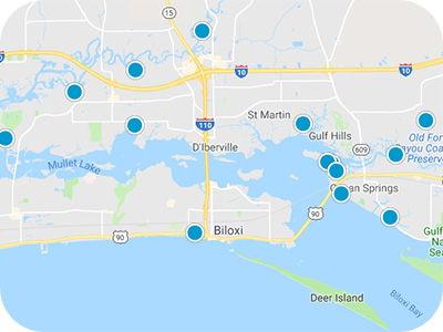 Gulf Coast Real Estate Map Search