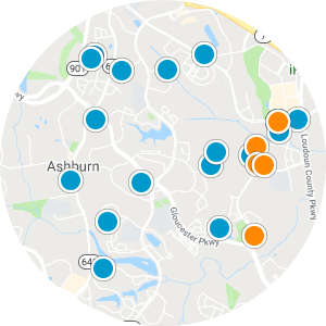 Ashburn Village Real Estate Map Search