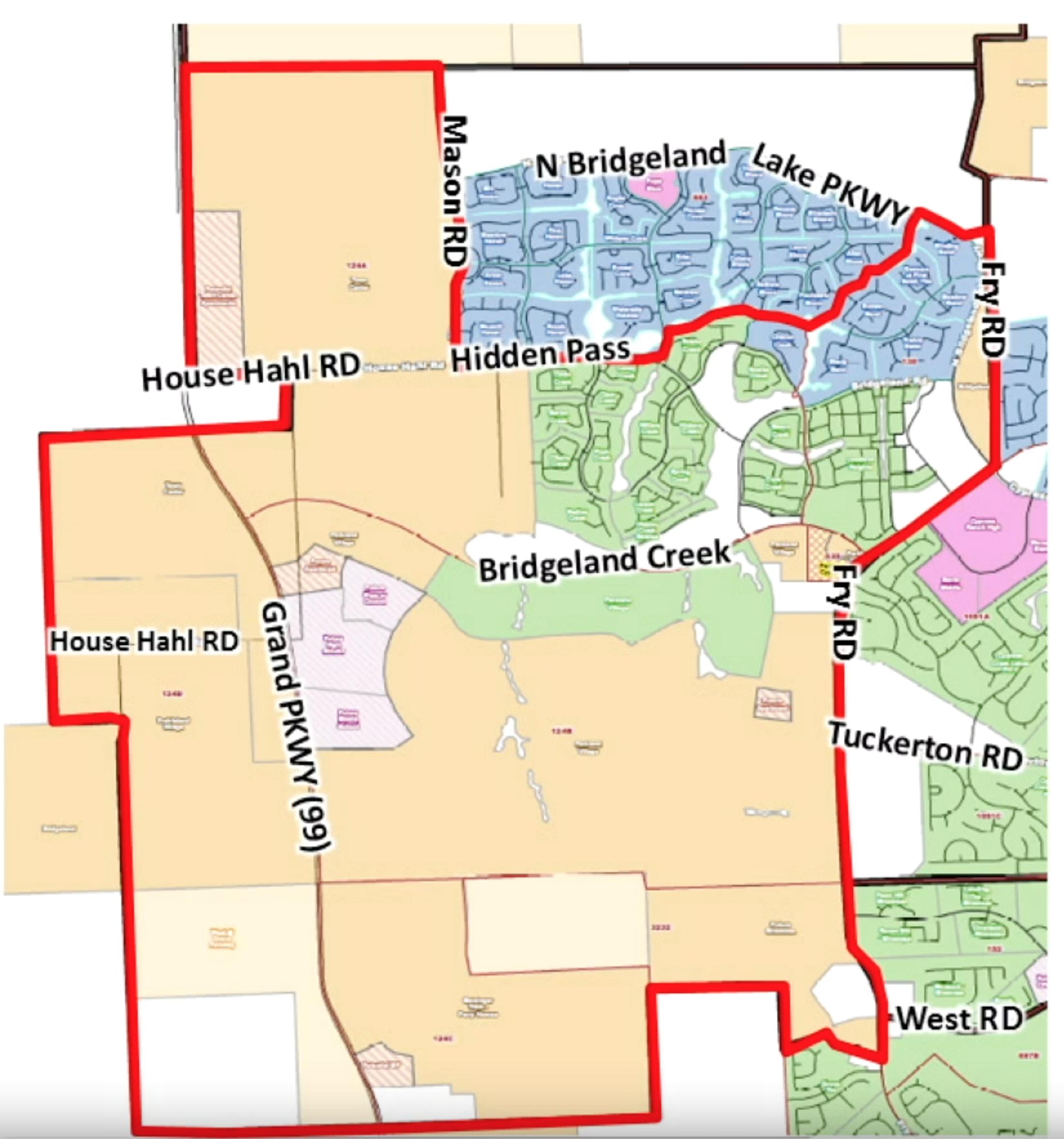 2017-2018 Bridgeland School Boundary Proposal