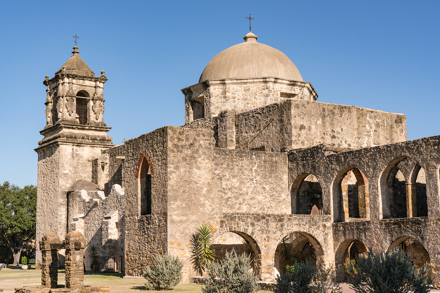 Tour the missions on San Antonio real estate.