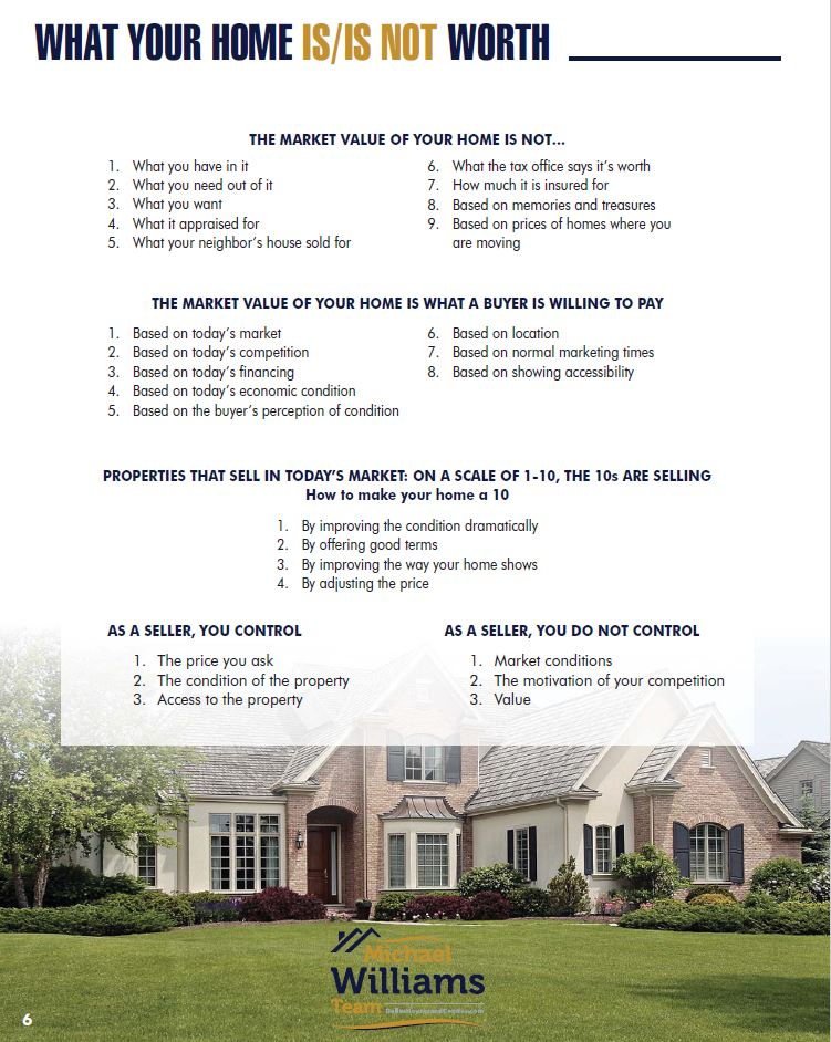 Michael Williams Selling Dallas Houses and Condo