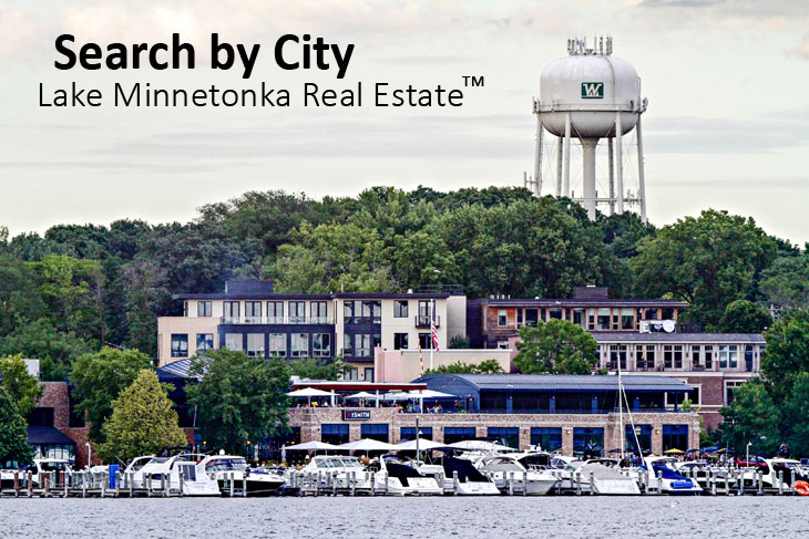 Cities on Lake Minnetonka