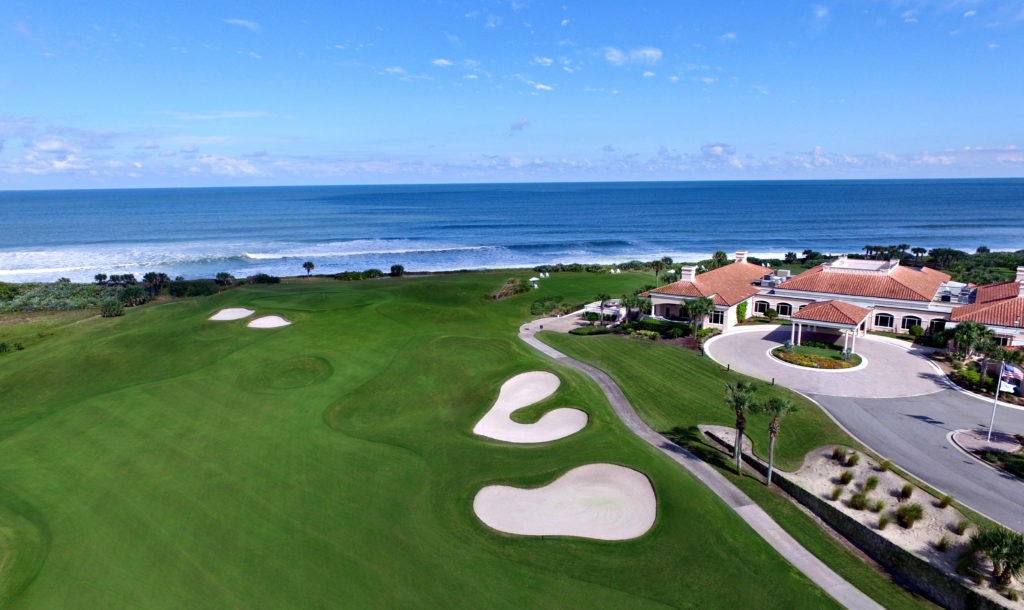 Hammock Dunes golf club oceanfront golf homes