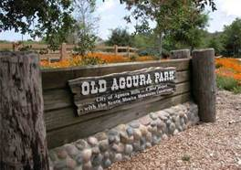 Old Agoura Park Sign