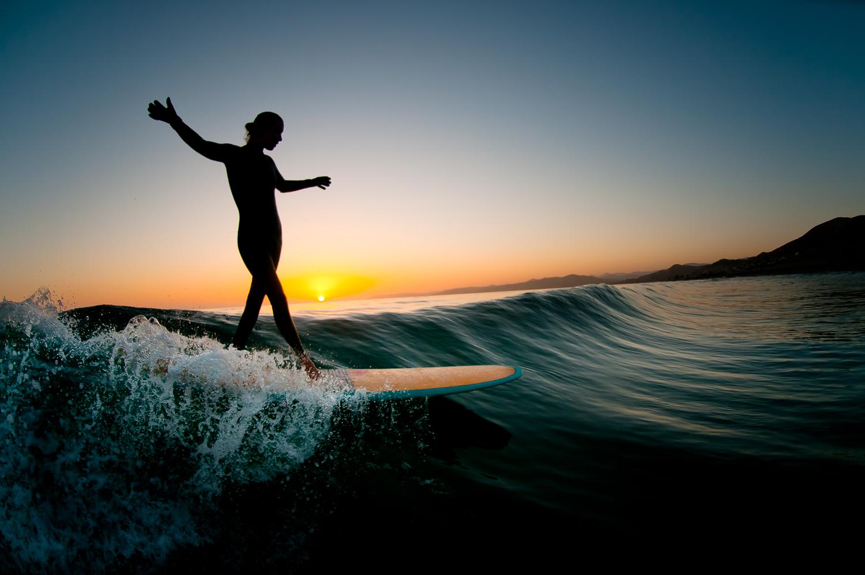 Malibu Surfer Girl
