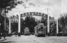 Old Oak Park Signage