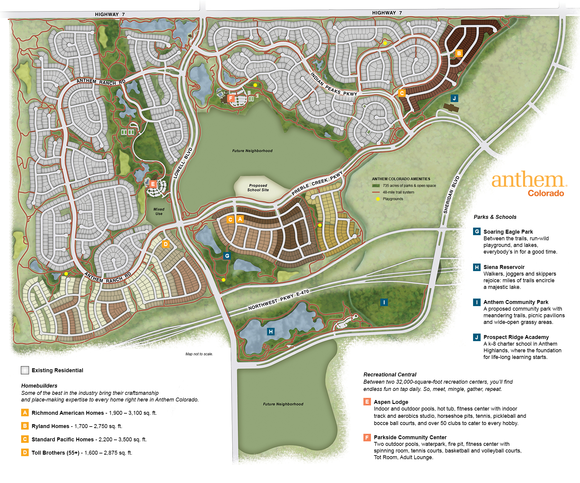 Highlands Ranch Colorado Street Map 0836410: Best Houses & Real Estate For Sale In Anthem, Broomfield CO