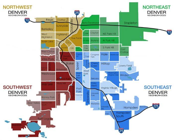 Denver Metro Map