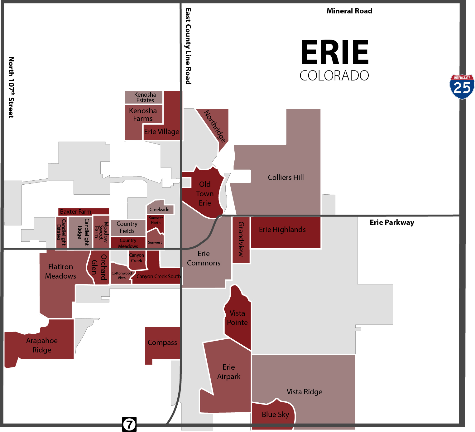 Erie Co Homes for Sale