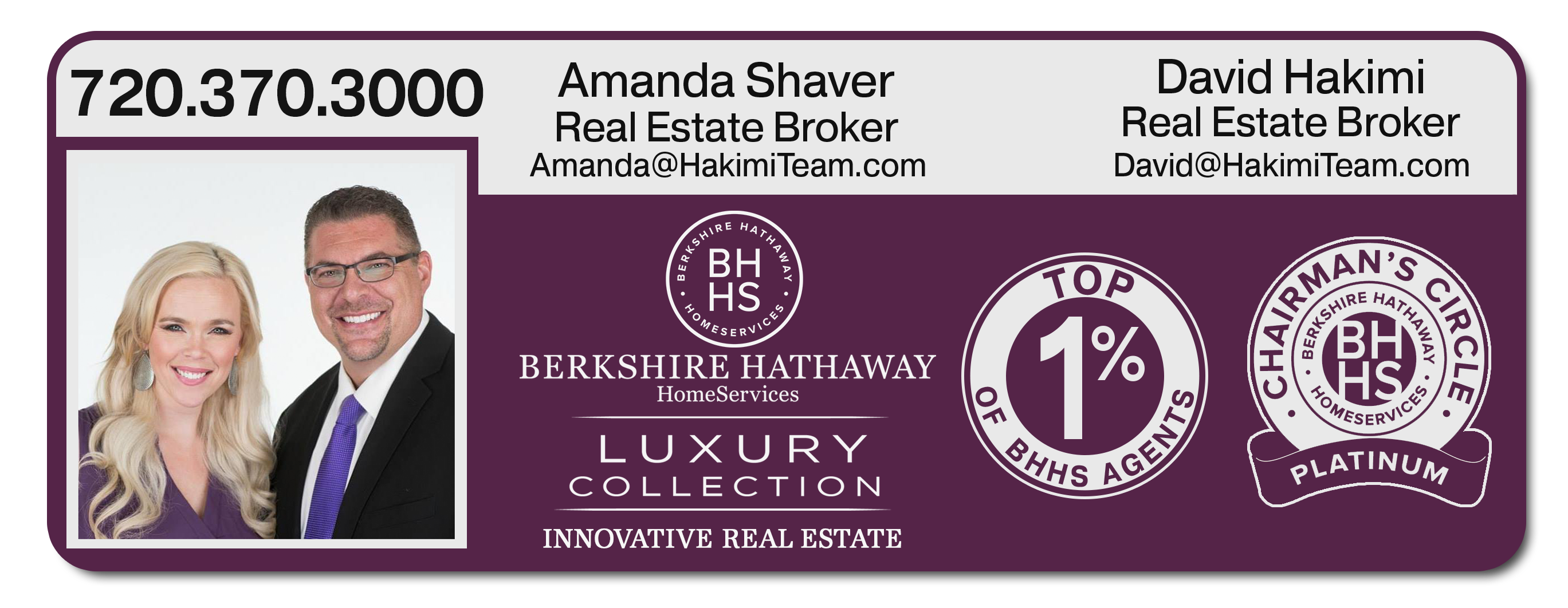 Berkshire Hathaway Luxury Collection Denver-The Hakimi Team