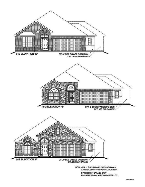 Builder Elevation Choices