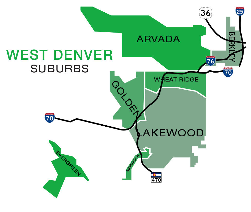 West Denver Suburbs