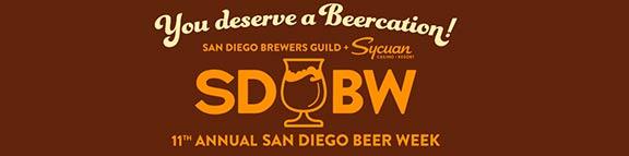 11th Annual San Diego Beer Week