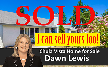 Chula Vista Home sald by Dawn Lewis