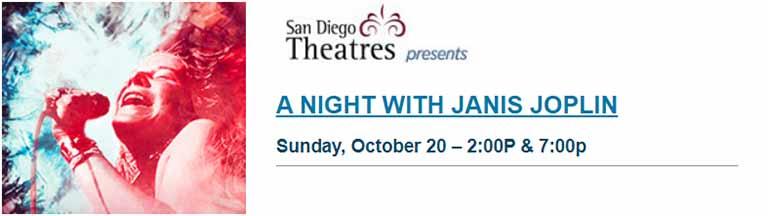 A night with Janis Joplin San Diego 2019