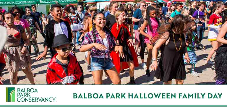 Balboa Park Halloween Faminly Day 2019