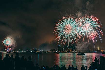 Big Bay Boom Fireworks 2019 July 4