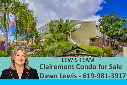 Clairemont Condo by Dawn Lewis with The Lewis Team