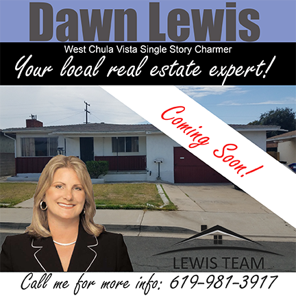 Coming Soon Chula Vista Single Story Home by Dawn Lewis