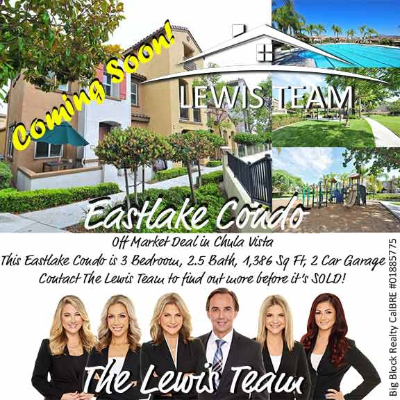 Coming Soon Eastlake Chula Vista Condo