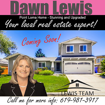 Coming Soon Point Loma Home by Dawn Lewis