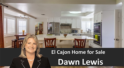 El Cajon Home For Sale Dawn Lewis