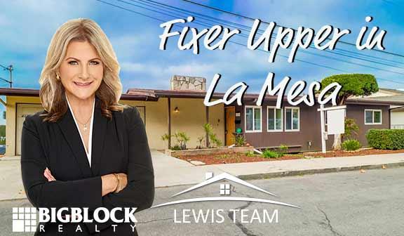 Fixer Upper in La Mesa