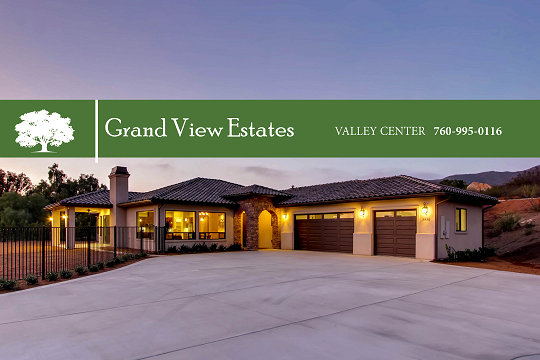 Grand View Estates Valley Center New Homes Dawn Lewis The Lewis Team