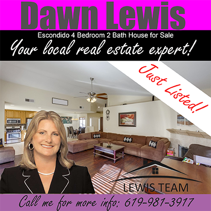 Just Listed Escondido Home by Dawn Lewis San Diego Realtors