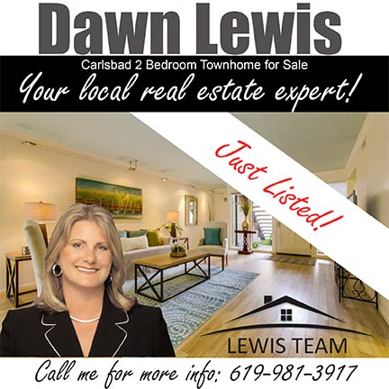 Just Listed Townhome in Carlsbad by Dawn Lewis San Diego Realtor