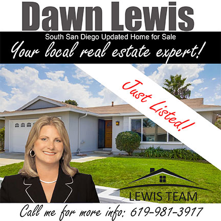 Just Listed in South San Diego by Dawn Lewis