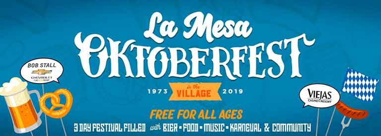 La Mesa Oktoberfest 2019 San Diego
