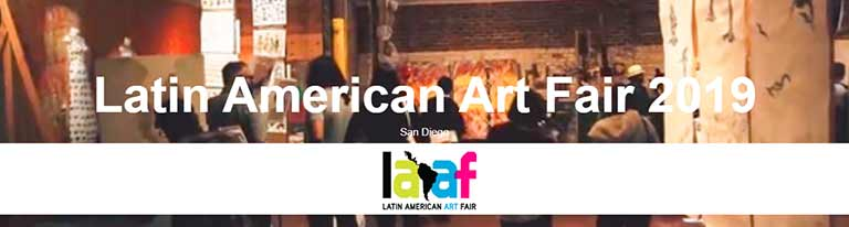 Latin American Art Fair San Diego October 2019