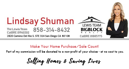Lidsay Shuman Selling Homes Saving Lives
