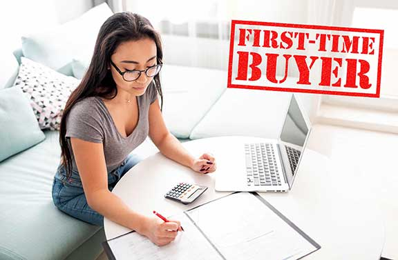 Loan Application for First Time Home Buyer San Diego