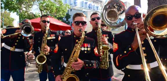 Marine Band Little Italy San Diego 2019